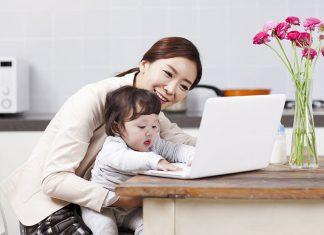 bringing baby work